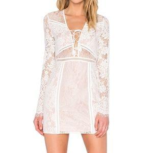 The Jetset Diaries Carribean Lace Mini Dress